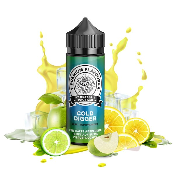 Dexter's Juice Lab - Origin - Cold Digger - 30ml Aroma (Longfill)